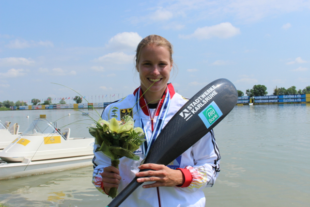 Verena Hantl startet gut in die internationale Saison      ©AMR