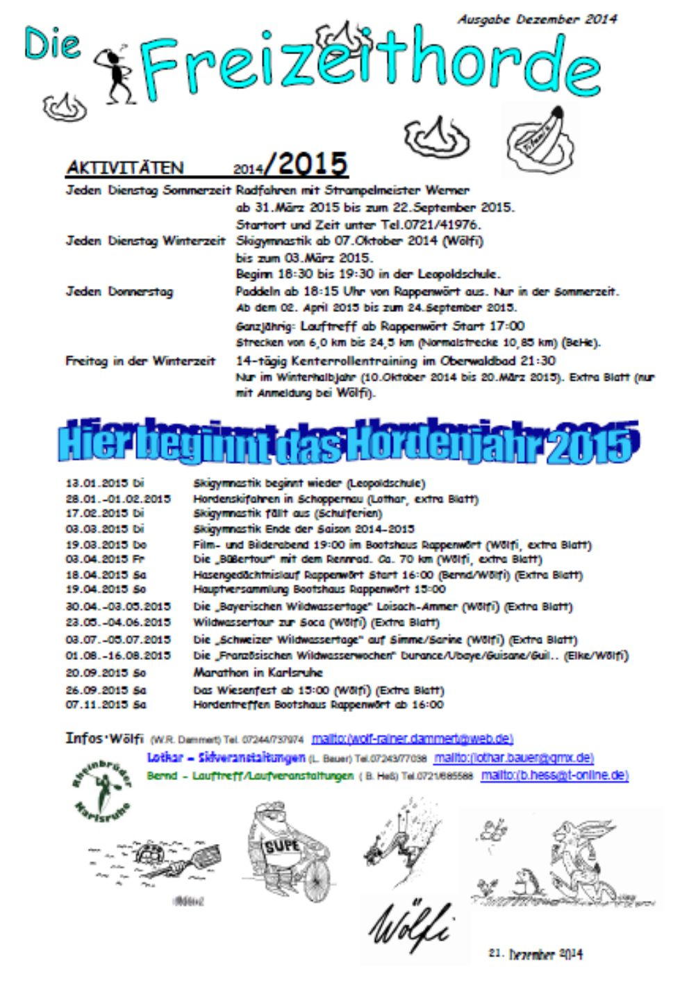 Hordenbrief 12-2014